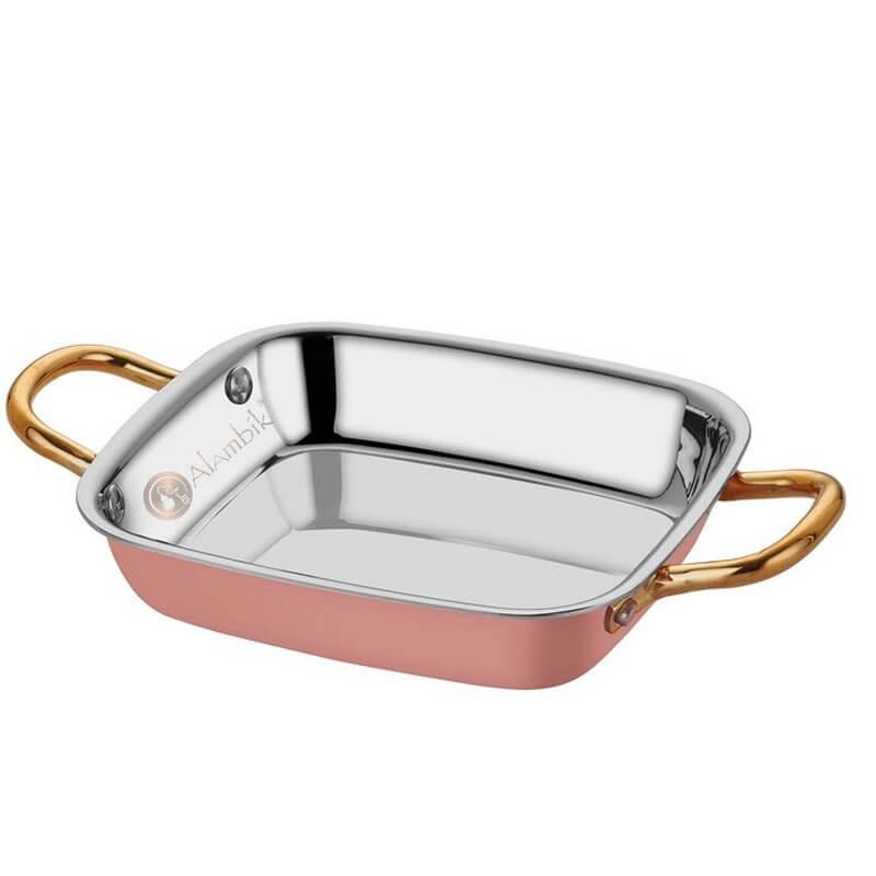 Медная многослойная сковорода для жарки