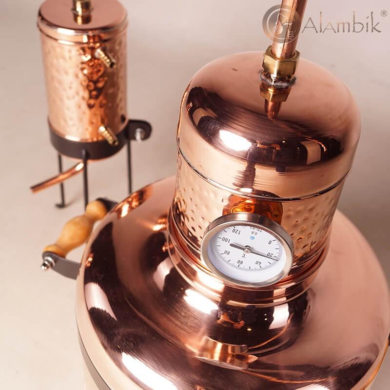 Медный аламбик -самогонный аппарат Геракл