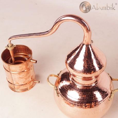 Аламбик классический на 10 литров. аламбік