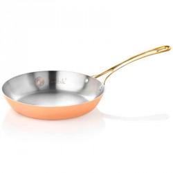 Медная сковорода для жарки (Гермиона) 22 см