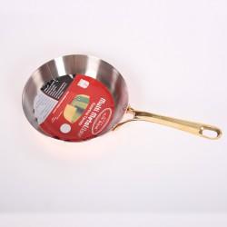 Медная сковорода для жарки (Гермиона) 26 см