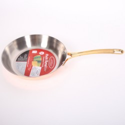 Медная сковорода для жарки (Гермиона) 28 см