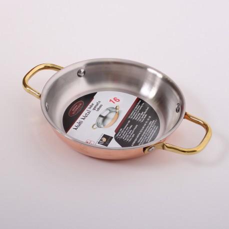 Медная сковорода (Амфора) 16 см