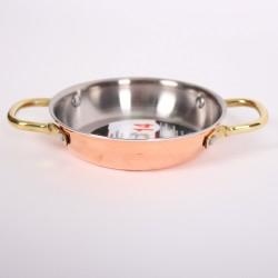Медная сковорода (Амфора) 14 см