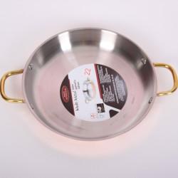 Медная сковорода (Амфора) 22 см