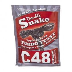 Спиртовые турбо дрожжи Doble SNAKE C-48 turbo yeast