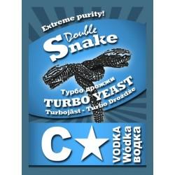 Спиртовые дрожжи турбо Double SNAKE C-Star turbo yeast