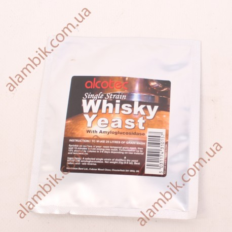 Дрожжи Алкотек для виски - Alcotec SingleStrain Whisky
