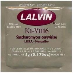 Lalvin K1-V1116 Винные дрожжи